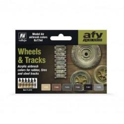 Wheels & tracks 6x17ml. (model air)