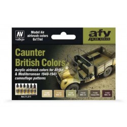 Caunter british colors 6x17ml. (model air)