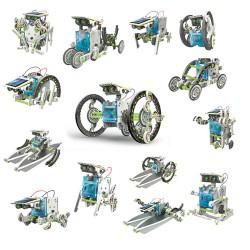 Robot bouwdoos op zonne energie 14in1