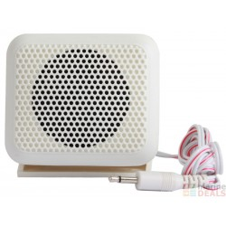 Communicatie speaker wit 3.5mm minijack