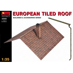 EUROPEAN TILED ROOF 1/35