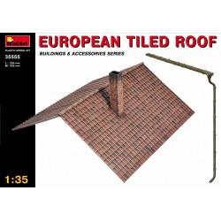 EUROPEAN TILED ROOF 1/35