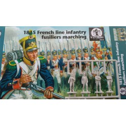 1815 FRENCH LINE INFANTRY FUSILIERS MARCHING 1/72