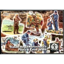 ITALIAN REGIA AERONAUTICA PILOTS & CREW WWII 1/72
