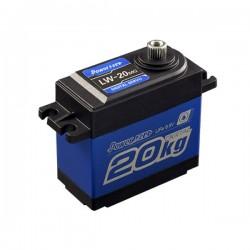 Dig. std. servo 20KG 0.16s/60 40.7x20.5x39.5mm WATERPROOF