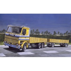 SCANIA 142M FLAT BED 1/24