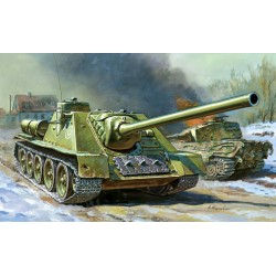 SOVIET TANK DESTROYER SU-100 1/72