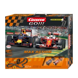 Carrera GO Max Verstappen racebaan 6,3mtr 1/43