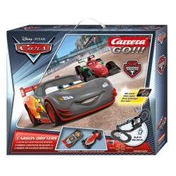 Carrera GO Cars Racebaan Carbon Drifters