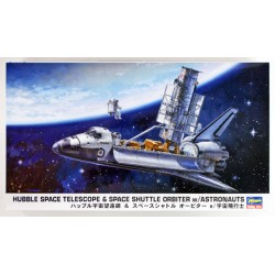 HUBBLE SPACE TELESCOPE & SHUTTLE ORBITER 1/200
