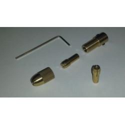 (flex) askoppeling 0,8-3,2mm (motoras 2mm) L-32mm