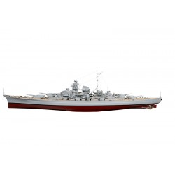 Voorgebouwde R/C Bismarck 125cm!