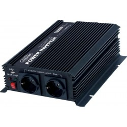 Omvormer 12V  230V 1600W mod sinus