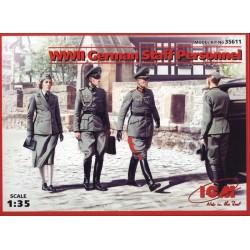 WWII GERMAN STAFF 1/35
