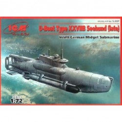 WWII GERMAN MIDGET SUBMARINE 1/72