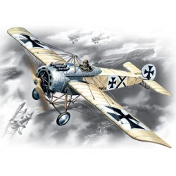 WWI GERMAN FOKKER E.IV 1/72