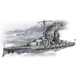 WWI GERMAN BATTLESHIP KURFURST 1/350