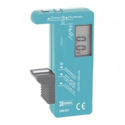 LCD digitale batterijtester AA AAA AAAA 9V C D cellen