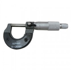 micrometer 0-25mm (acc. 0.01mm)
