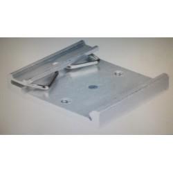 DIN rail montageclip 45mm  (alu) oa voor optorelais