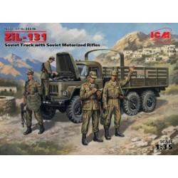 SOVIET TRUCK ZIL-131 1/35