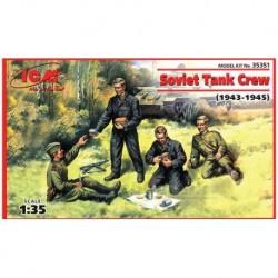 SOVIET TANK CREW 1943-1945 1/35