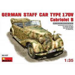 GERMAN STAFF CAR TYPE 170V CABRIO B 1/35