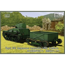 TYPE 94 JAPANESE TANKETTE WITH TRAILER 1/72