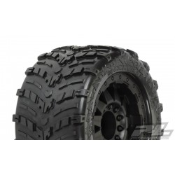 "1/8 band+velg Shockwave 3.8"" (Traxxas Style Bead) All Terrain Tires Mounted"