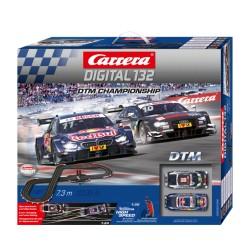 Carrera Digital 132 Racebaan DTM Championship 7,3mtr.