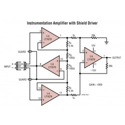 Opamp Ad620an instr.  dil-8