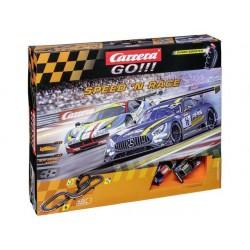 Carrera GO racebaan startset speed en race 5,4mtr.