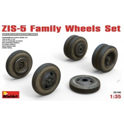 ZIS-5 FAMILY WHEELS SET 1/35
