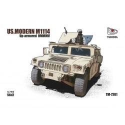 US. MODERN M1114 HMMWV 1/72