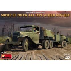 SOVIET 2T TRUCK AAA TYPE WITH FIELD KITCHEN 1/35