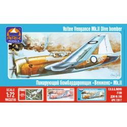 VULTEE VENGANCE MK.II DIVE BOMBER 1/72
