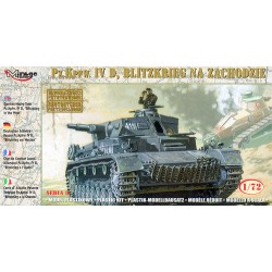 GERMAN PZ.KPFW. IV D 1/72