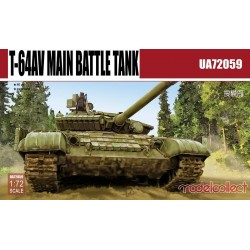 T-64AV MAIN BATTLE TANK 1/72