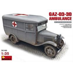 GAZ-03-30 WWII AMBULANCE 1/35