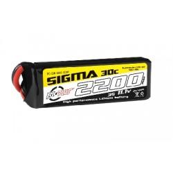 LC lipo 3S 2200mAh 30C 108x35x24mm
