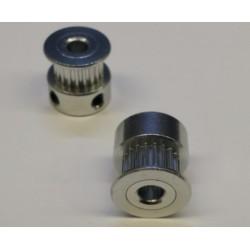 ALU tandriempulley 20T diam-16mm H-16mm boring-4mm