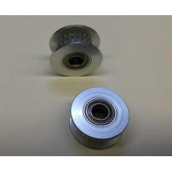 ALU tandriem spanwiel kogellagers as-5mm diam-18mm