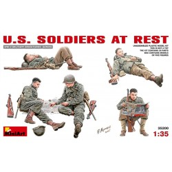 U.S SOLDIERS IN REST 1/35