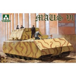 WWII GERMAN SUPER HEAVY TANK MAUS V1 1/35