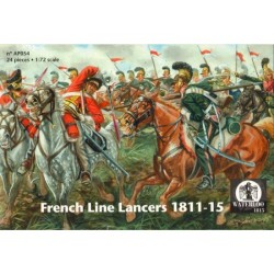 FRENCH LINE LANCERS 1811-15 1/72