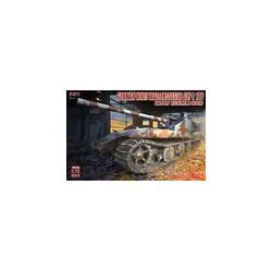 GERMAN WWII WAFFENTRAGER AUF E100 WITH 128MM GUN 1/72
