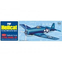 Guillows houten vliegtuig F6F Hellcat 42cm