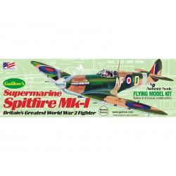 Guillows houten vliegtuig spitfire MK-1 42cm