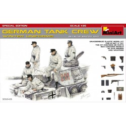 GERMAN TANK CREW WINTER 1/35