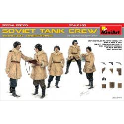 SOVIET TANK CREW 1/35